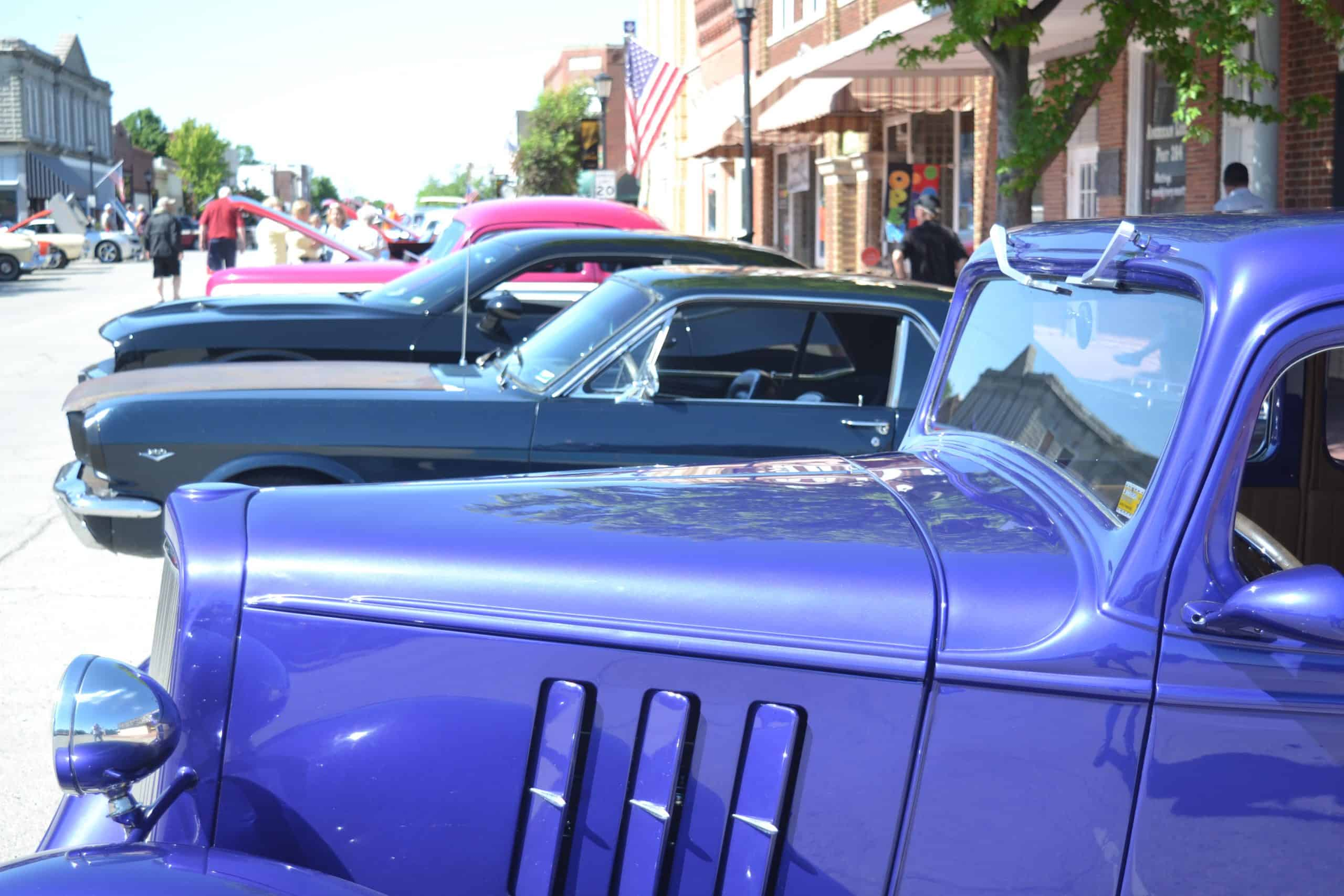 Downtown Car Show
